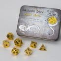 Metal Dice Set - Shiny Gold (7 Dice)