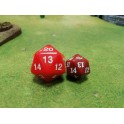 Spindown d20 Dice 30mm