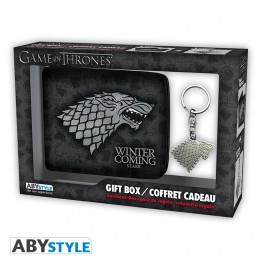 Game of Thrones - Gift Set: Wallet & Keychain