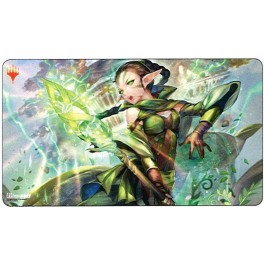 "War of the Spark: Japanese Alternate-Art Planeswalkers: ""Nissa, Who Shakes the World"" Playmat"