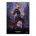 Stained Glass Wall Scroll MtG: Chandra