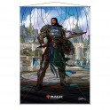 Stained Glass Wall Scroll MtG: Gideon