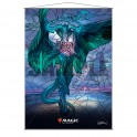 Stained Glass Wall Scroll MtG: Ugin