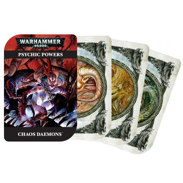 Warhammer 40,000 Psychic Cards: Chaos Daemons