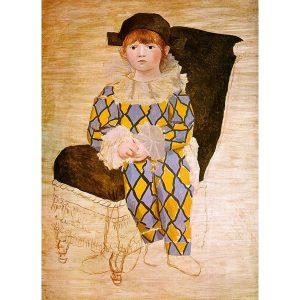Picasso, Paul en Arlequin, 1924