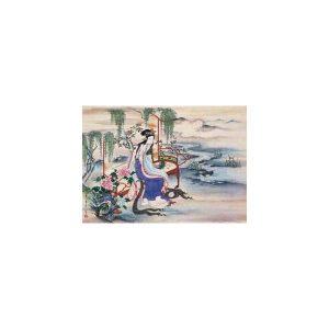 Chinese Art, The Beautiful Chinese Yang Guifei, Edo Period, 1800-1820
