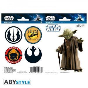 """Stickers Star Wars """"Joda - Symbols"""""""