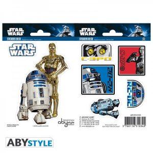 """Stickers Star Wars """"R2D2 - C3PO"""""""