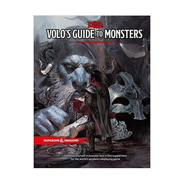 DnD 5: Volo's Guide to Monsters