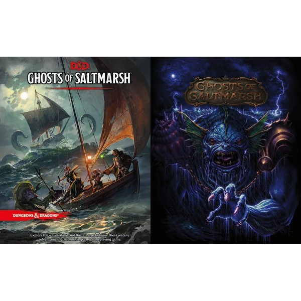 Dungeons and Dragons: Ghosts of Saltmarsh - Alternalte Cover