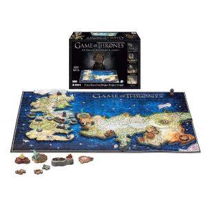 Game Of Thrones: 4D Puzzle of Westeros & Essos
