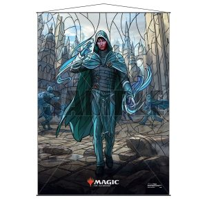 Stained Glass Wall Scroll MtG: Jace