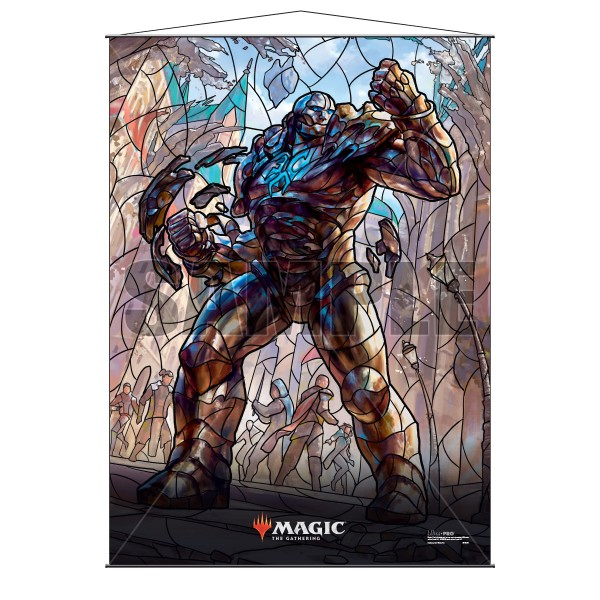Stained Glass Wall Scroll MtG: Karn