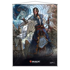 Stained Glass Wall Scroll MtG: Teferi