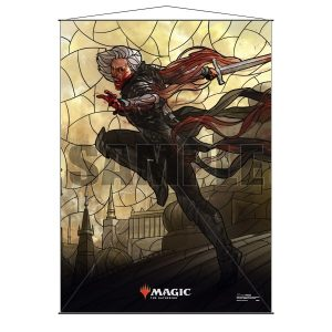 Stained Glass Wall Scroll MtG: Sorin