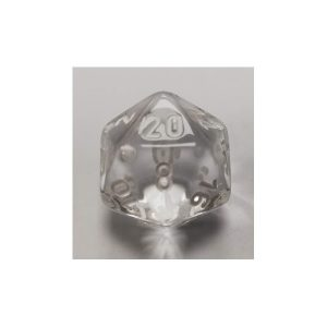Clear w/white Translucent Polyhedral 7 - Die Set