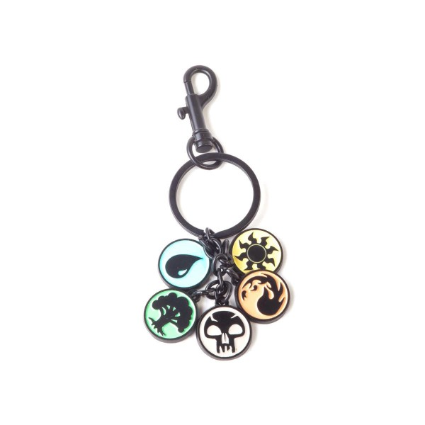 Magic the Gathering - Keychain with Metal Charms