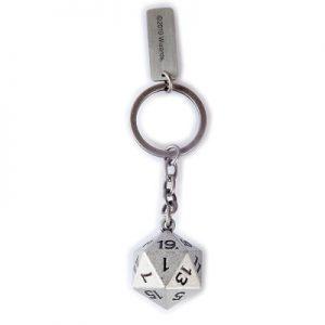 Dice 3D Metal Keychain