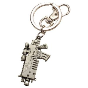 Bolter Metal Keychain