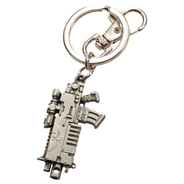 Warhammer 40k - Bolter Metal Keychain